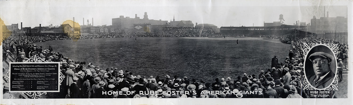 Cristóbal Torriente played for the Chicago American Giants in Schloring Park during his six years with the team. Above is an image of Schloring taken in 1923. (National Baseball Hall of Fame)