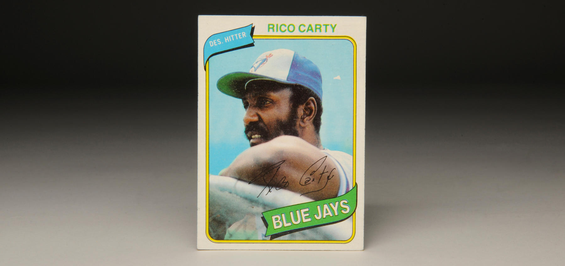 This 1980 Topps card was the last of Rico Carty's career. (Milo Stewart, Jr. / National Baseball Hall of Fame)