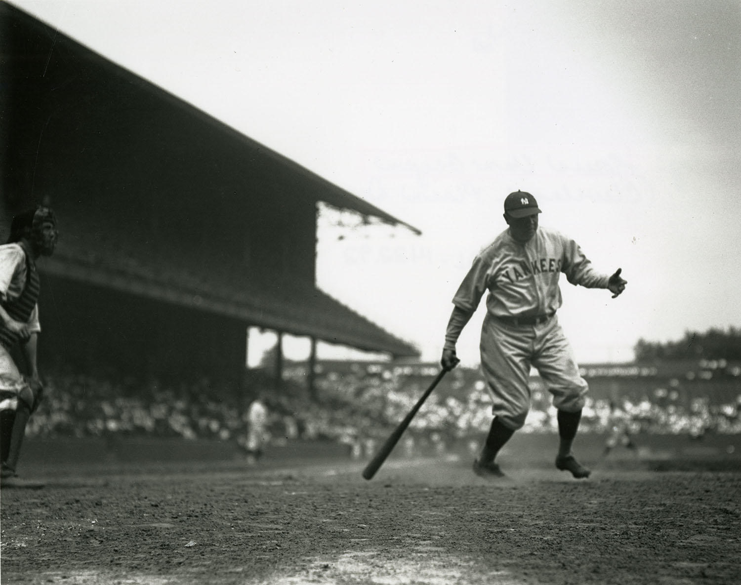 Although his record of 60 home runs has since been surpassed, Babe Ruth's 1927 season ranks as one of the greatest in baseball history. (National Baseball Hall of Fame)