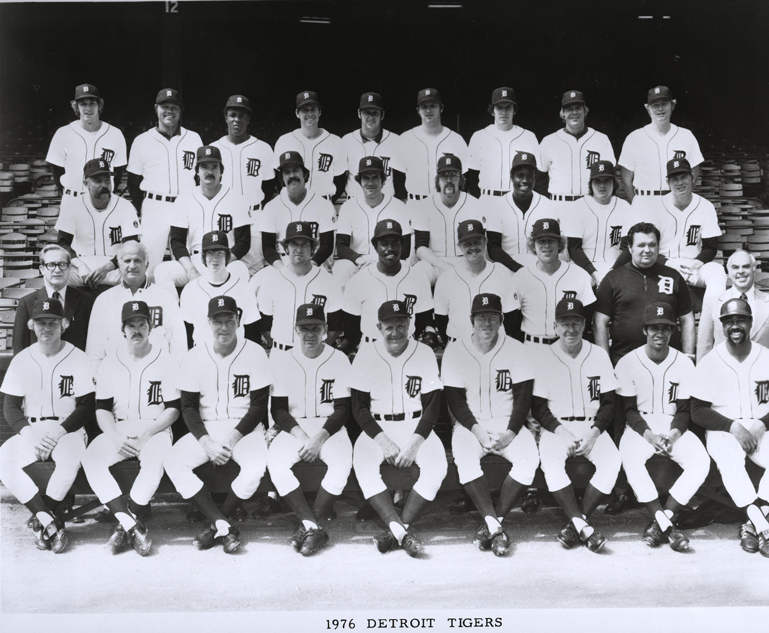 Coming off a 57-102 campaign, the 1976 Detroit Tigers had the second pick in that year's draft. (National Baseball Hall of Fame and Museum)