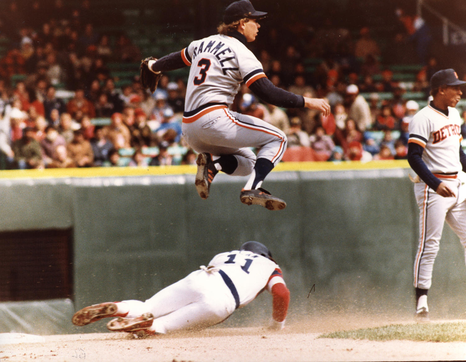 Alan Trammell played for the Detroit Tigers from 1977-1996. (National Baseball Hall of Fame and Museum)