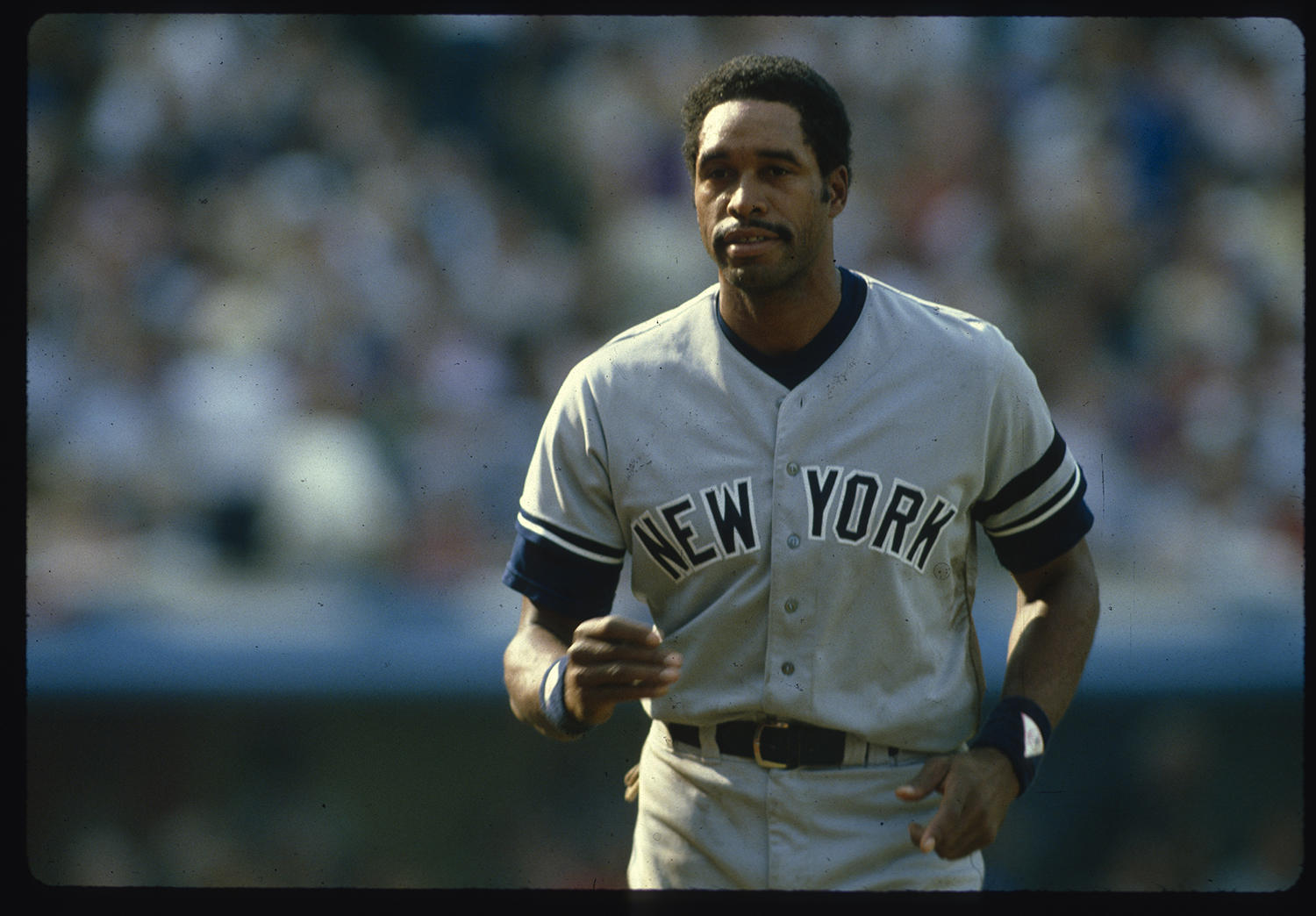 Dave Winfield during his first World Series appearance in 1981. (Anthony Neste / National Baseball Hall of Fame Library)
