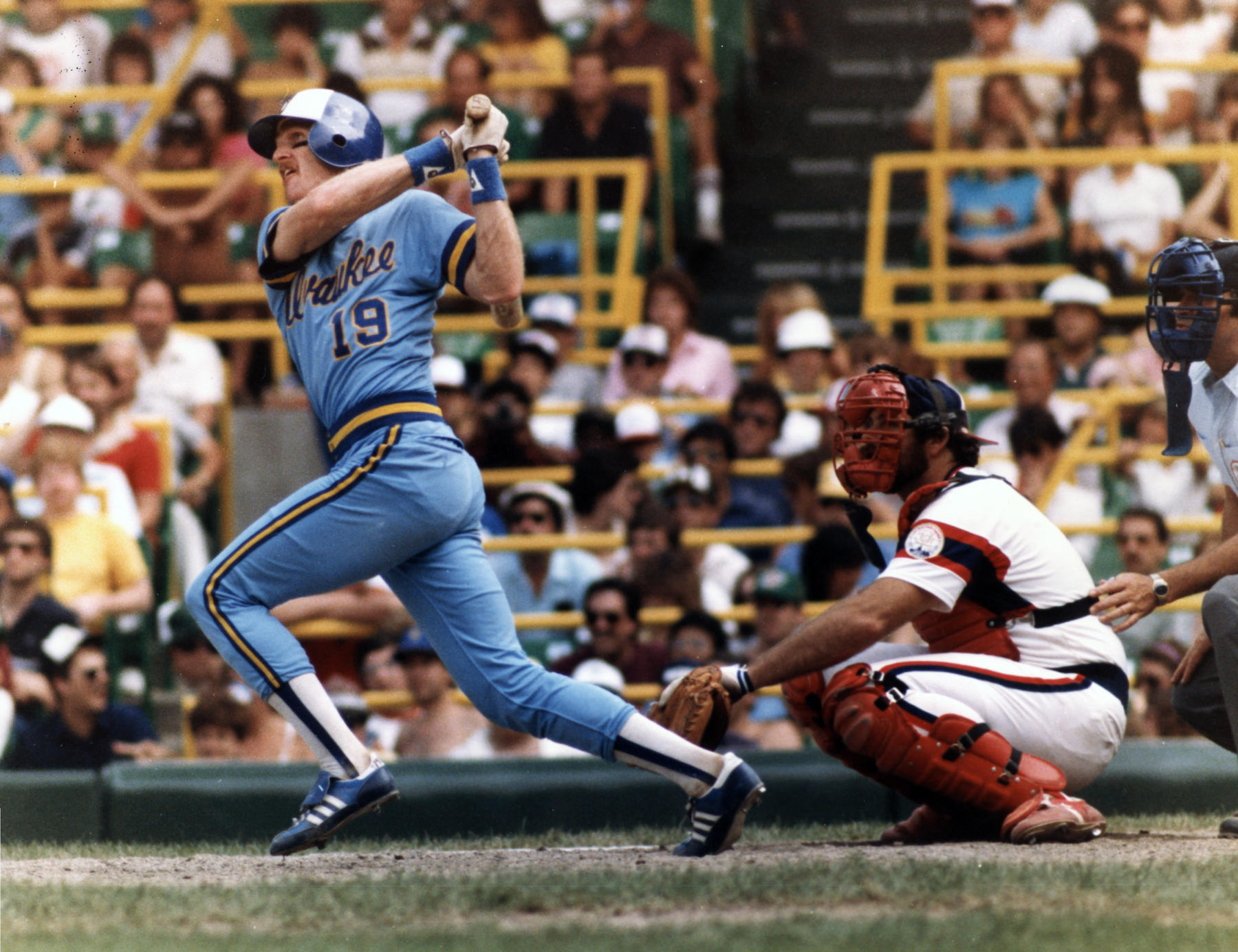 Robin Yount recorded 210 hits in 1982 -- the most of anyone in the major leagues. (National Baseball Hall of Fame)