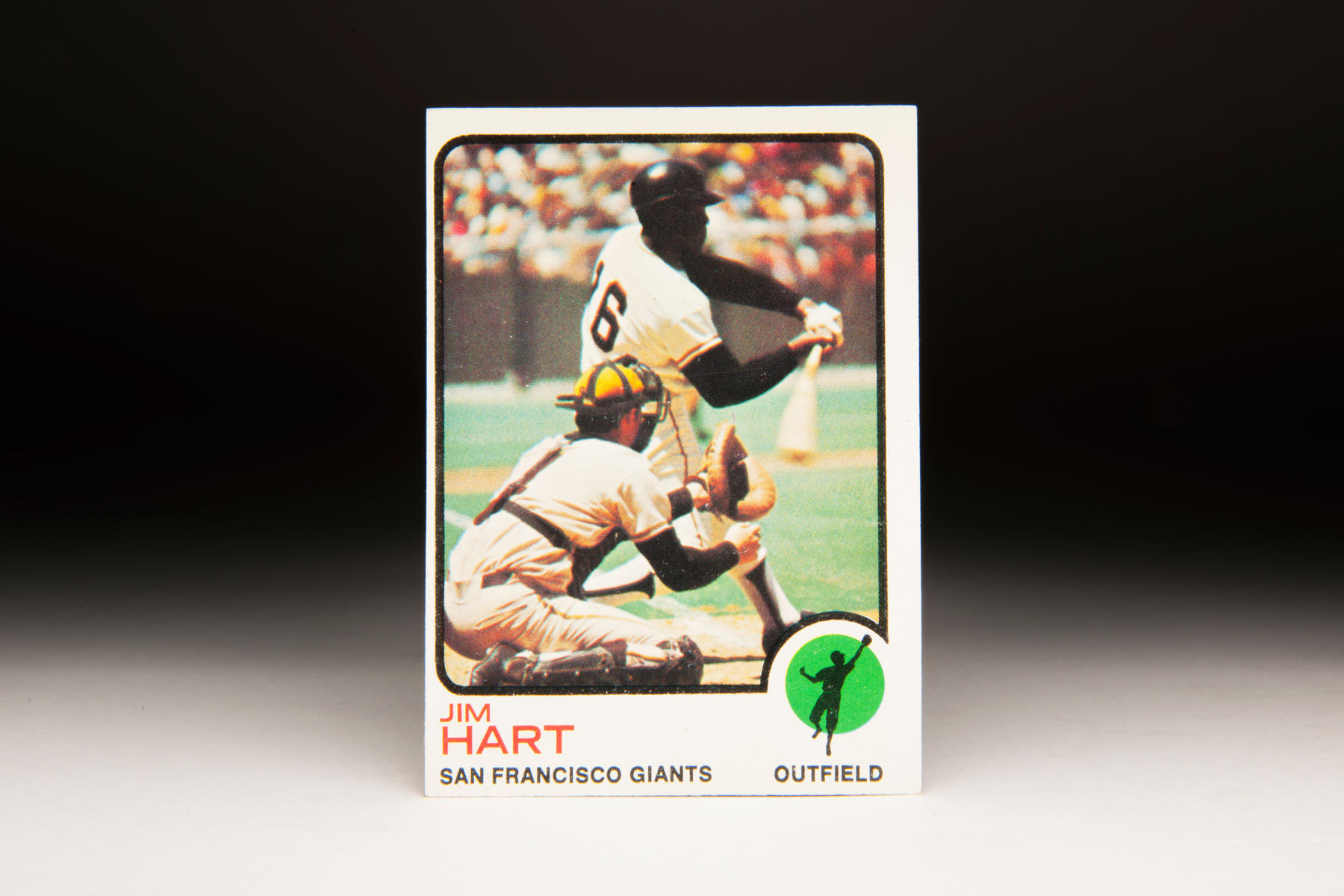 1973 Jim Ray Hart Topps card. (Milo Stewart Jr. / National Baseball Hall of Fame)