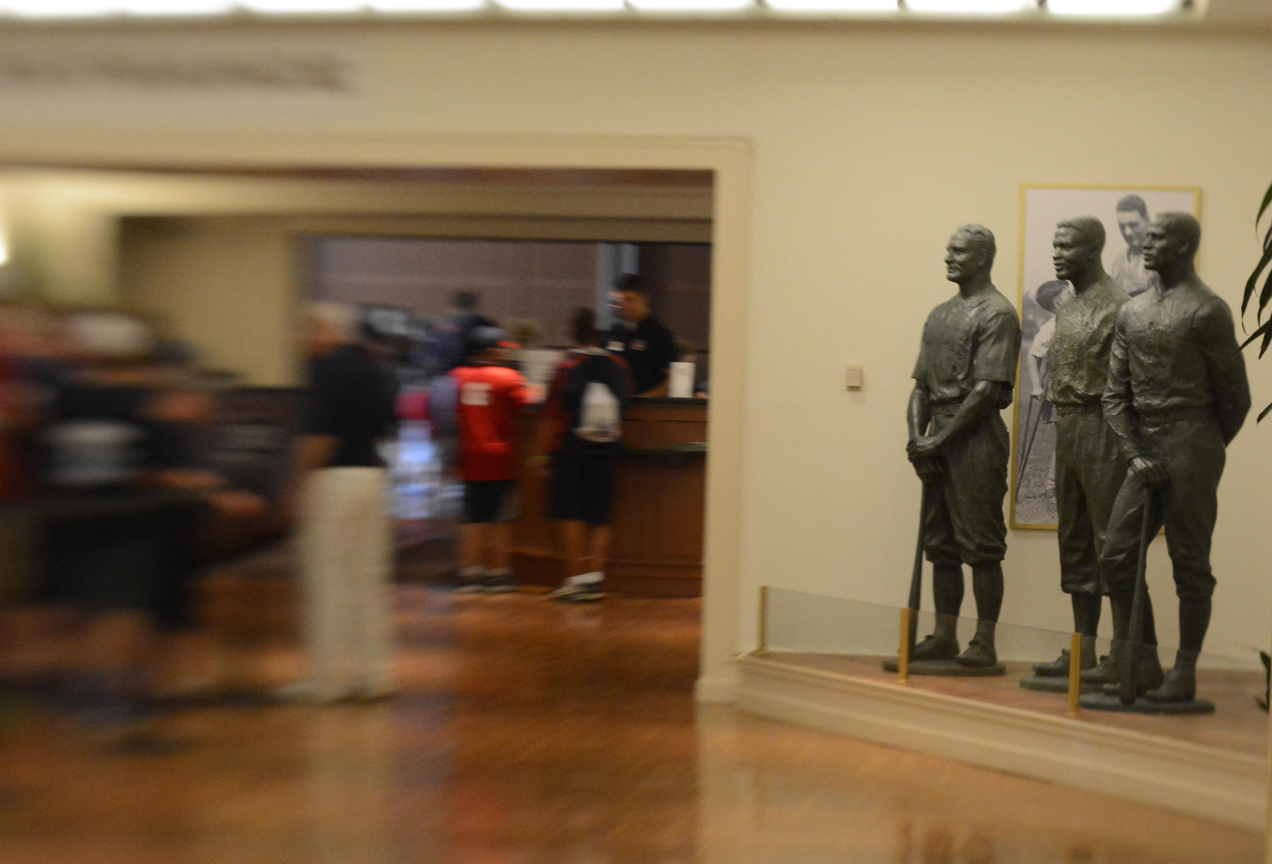 Hall of Fame lobby and ticket booth (Milo Stewart Jr./National Baseball Hall of Fame)
