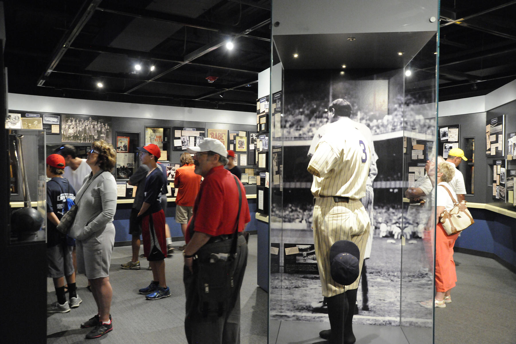The National Baseball Hall of Fame and Museum opened <em>Babe Ruth: His Life and Legend</em> in 2014. (Milo Stewart Jr./National Baseball Hall of Fame and Museum)