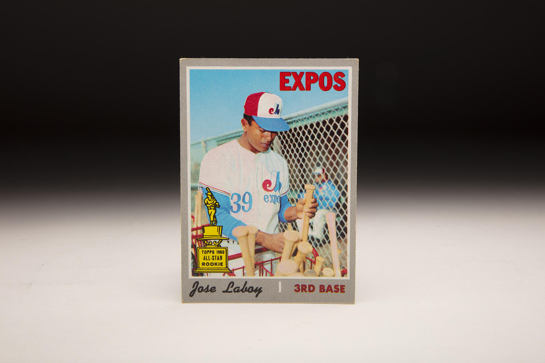 The front of Topps' 1970 Coco Laboy card. (Milo Stewart Jr./National Baseball Hall of Fame and Museum)
