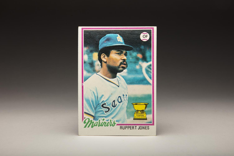 Cardcorner 1978 Topps Ruppert Jones Baseball Hall Of Fame