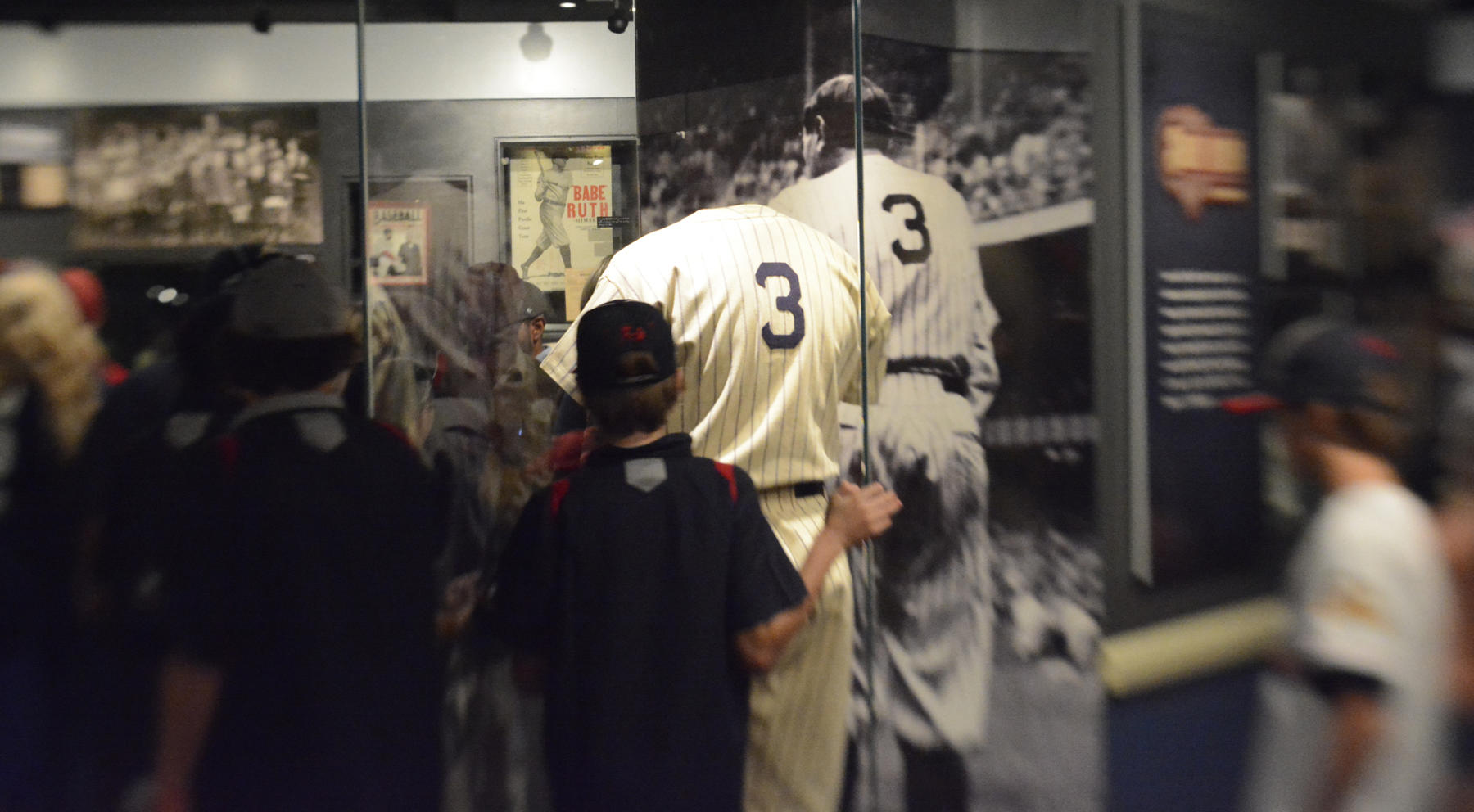 Babe Ruth: His Life and Legend is located on the second floor of the Museum. (Milo Stewart Jr./National Baseball Hall of Fame)