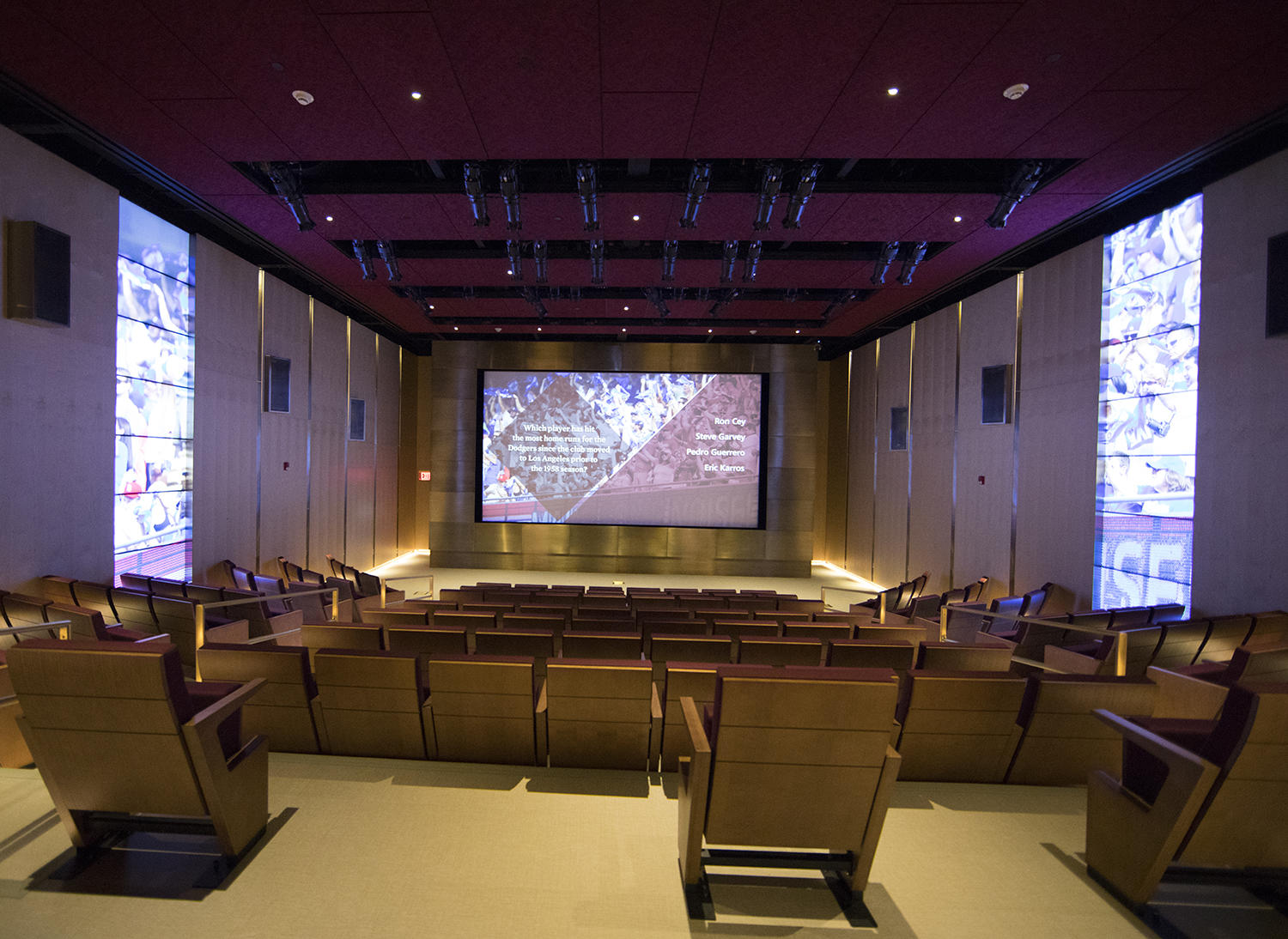 After a complete renovation, the 189-seat Grandstand Theater will reopen May 25 as the start to Hall of Fame Classic Weekend. (Milo Stewart Jr./National Baseball Hall of Fame and Museum)