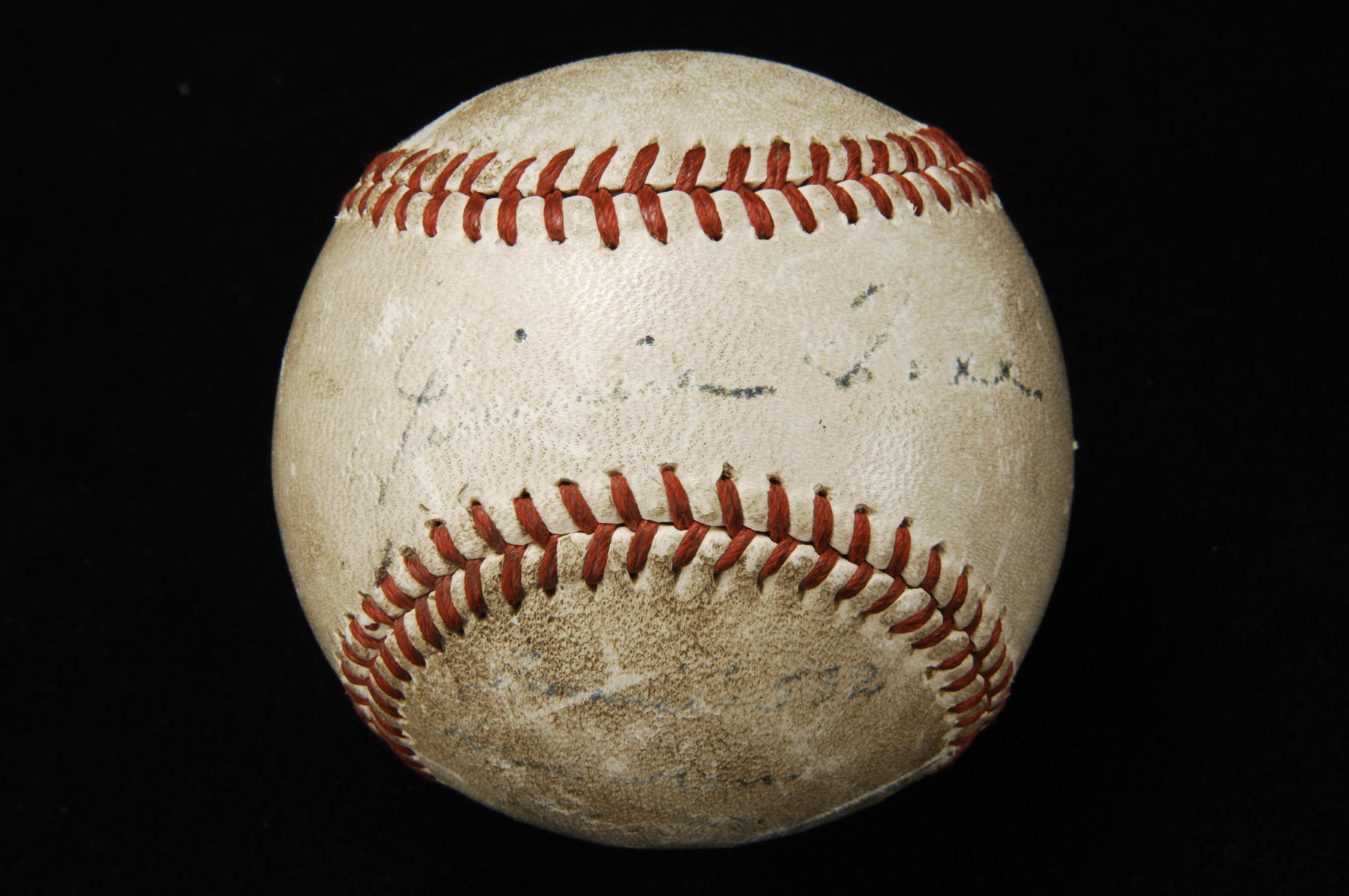 Ball hit by Jimmie Foxx for his 532nd career home run, August 20, 1945 - B-361-70 (Milo Stewart Jr./National Baseball Hall of Fame Library)