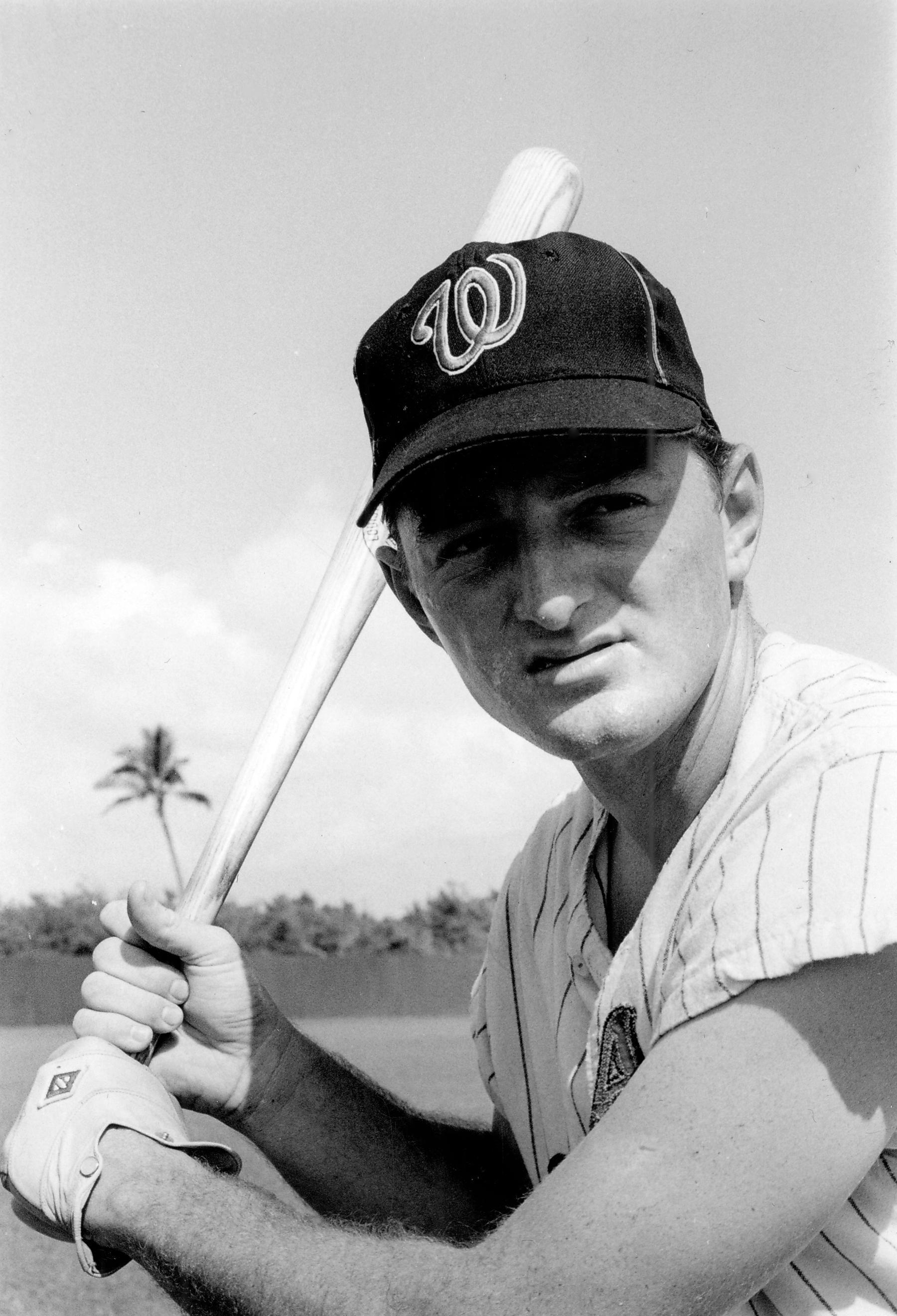Ken Harrelson of the Washington Senators. BL-2639.72 (National Baseball Hall of Fame Library)