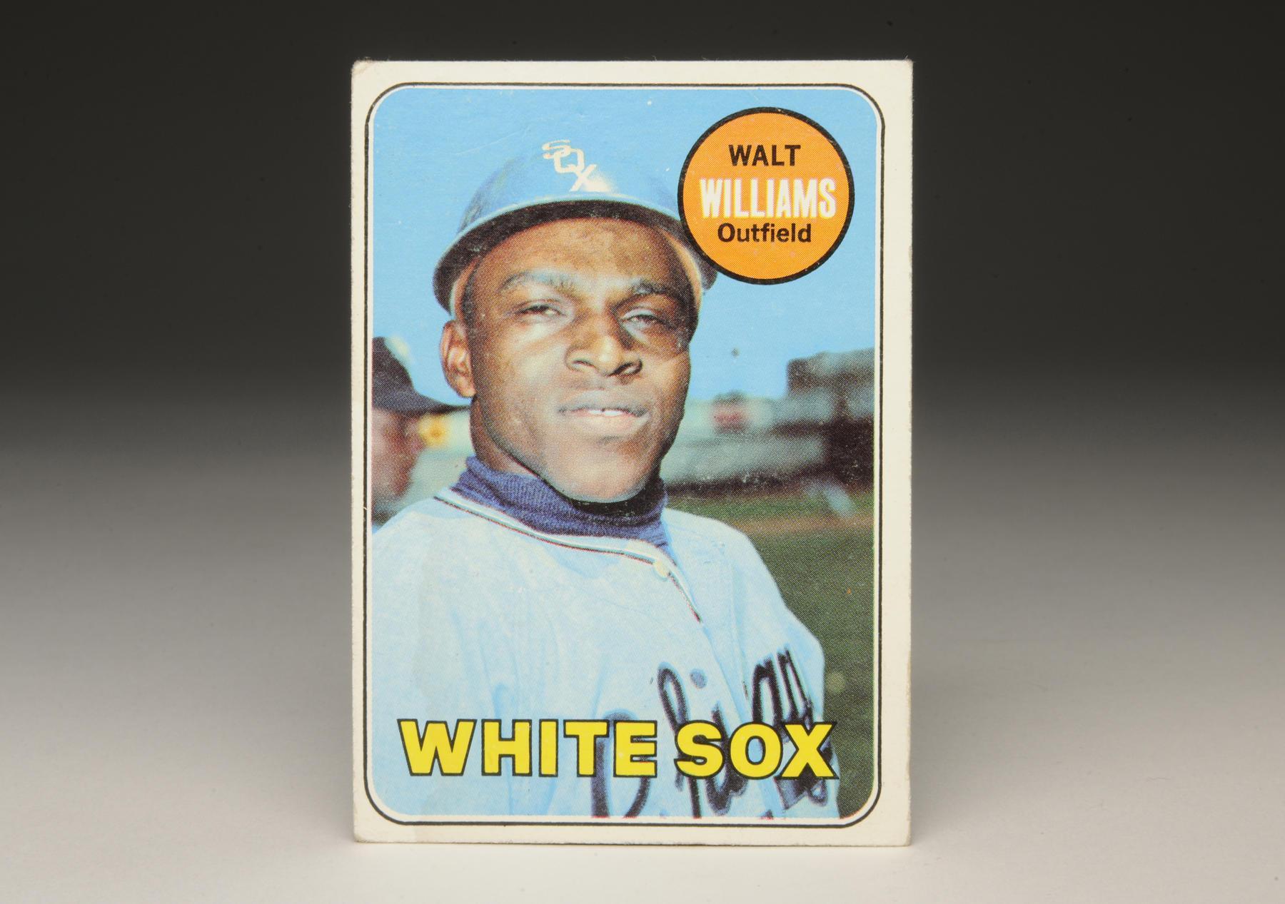 1969 Walt Williams Topps card.(Milo Stewart, Jr. / National Baseball Hall of Fame)