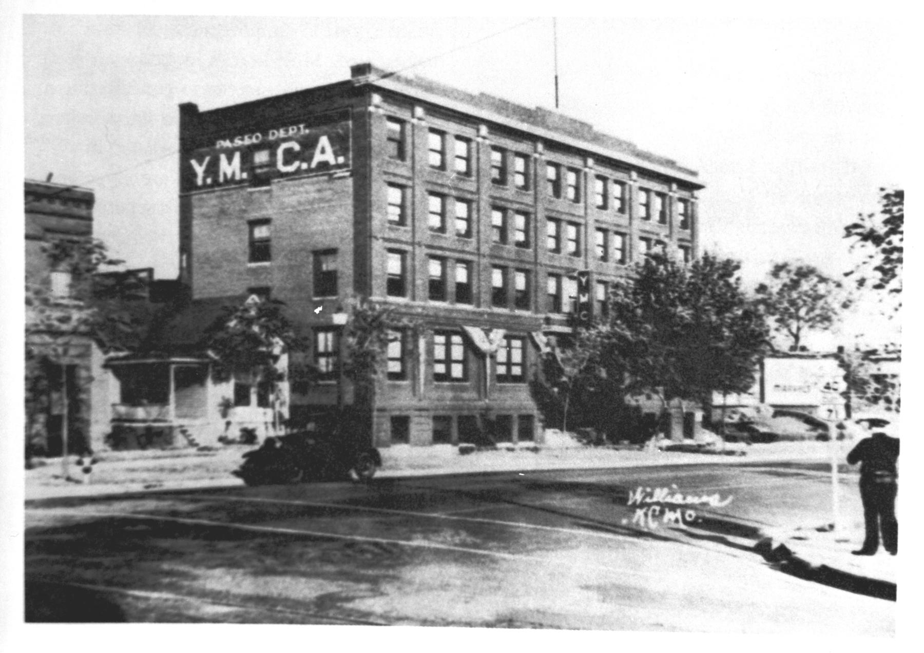 The YMCA in Kansas City, Missouri where the Negro National League was established in 1920. BL-103.2008.16 (Larry Hogan / National Baseball Hall of Fame Library)