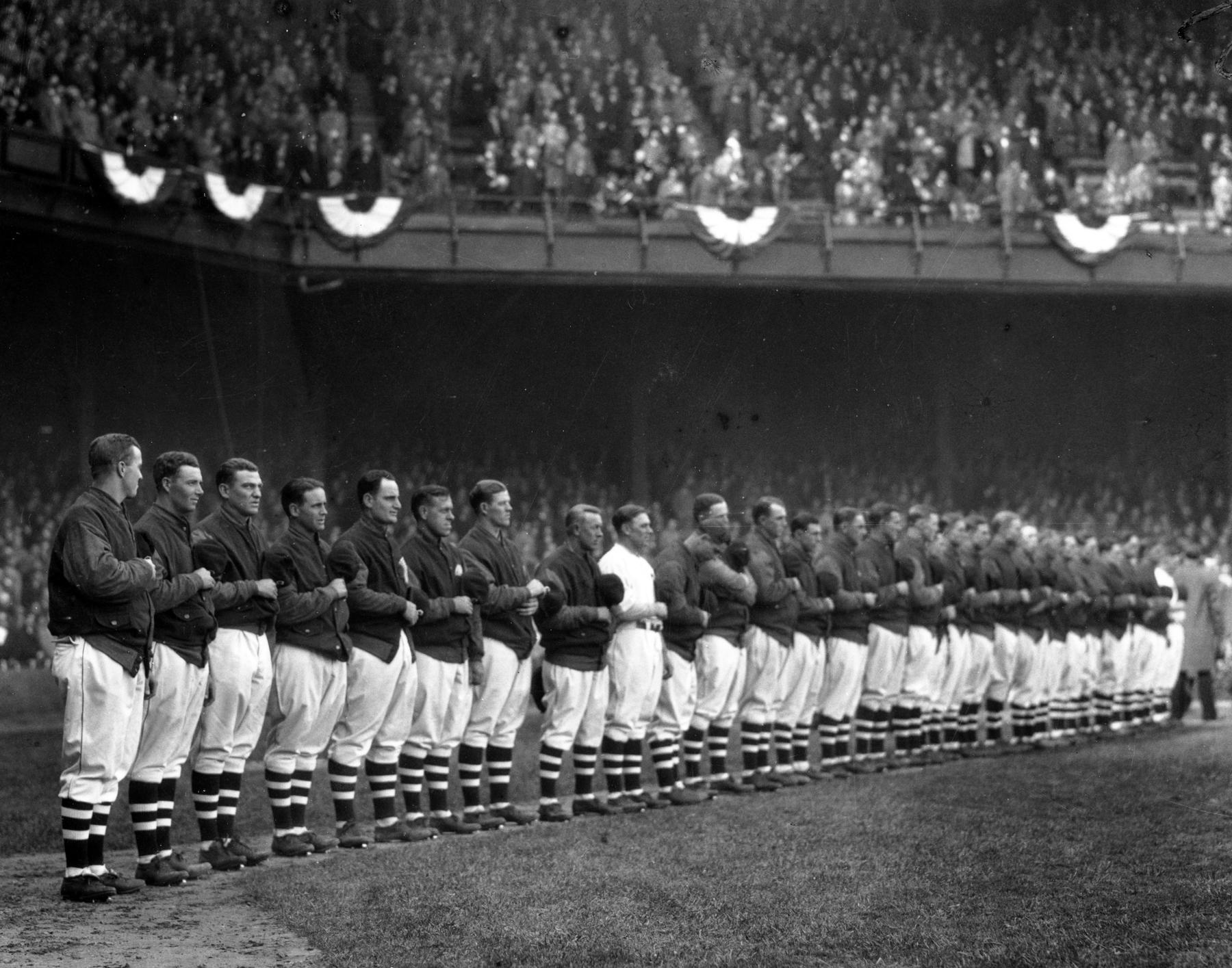 Opening Day, Cleveland, 1930 - BL-1426-92 (Louis Van Oeyen/National Baseball Hall of Fame Library)