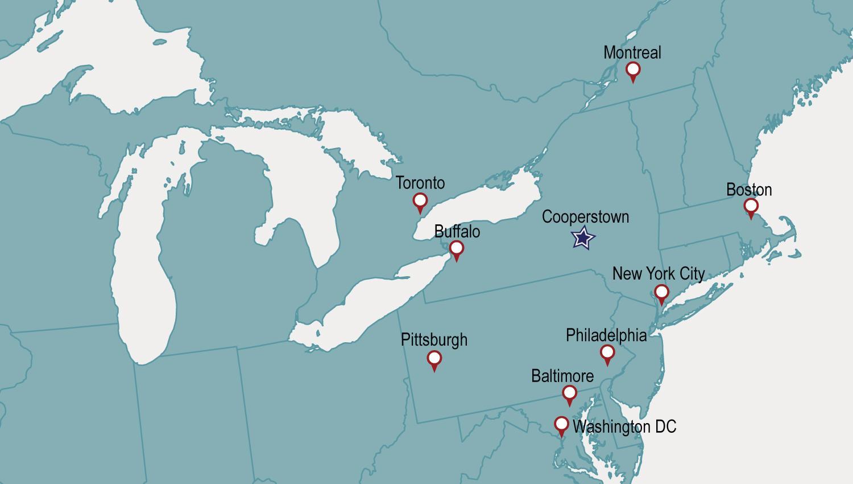 Visit | Baseball Hall of Fame on cherry valley ny map, central square ny map, orange county ny map, schuyler lake ny map, cortland ny map, gallupville ny map, washington ny map, cooperstown new york, upper saranac lake ny map, cooperstown google maps, thousand islands ny map, stanton ny map, st johnsville ny map, town of corning ny map, ft totten ny map, cooperstown winter carnival 2014, coeymans ny map, canadarago lake ny map, lake placid ny on map, alder creek ny map,