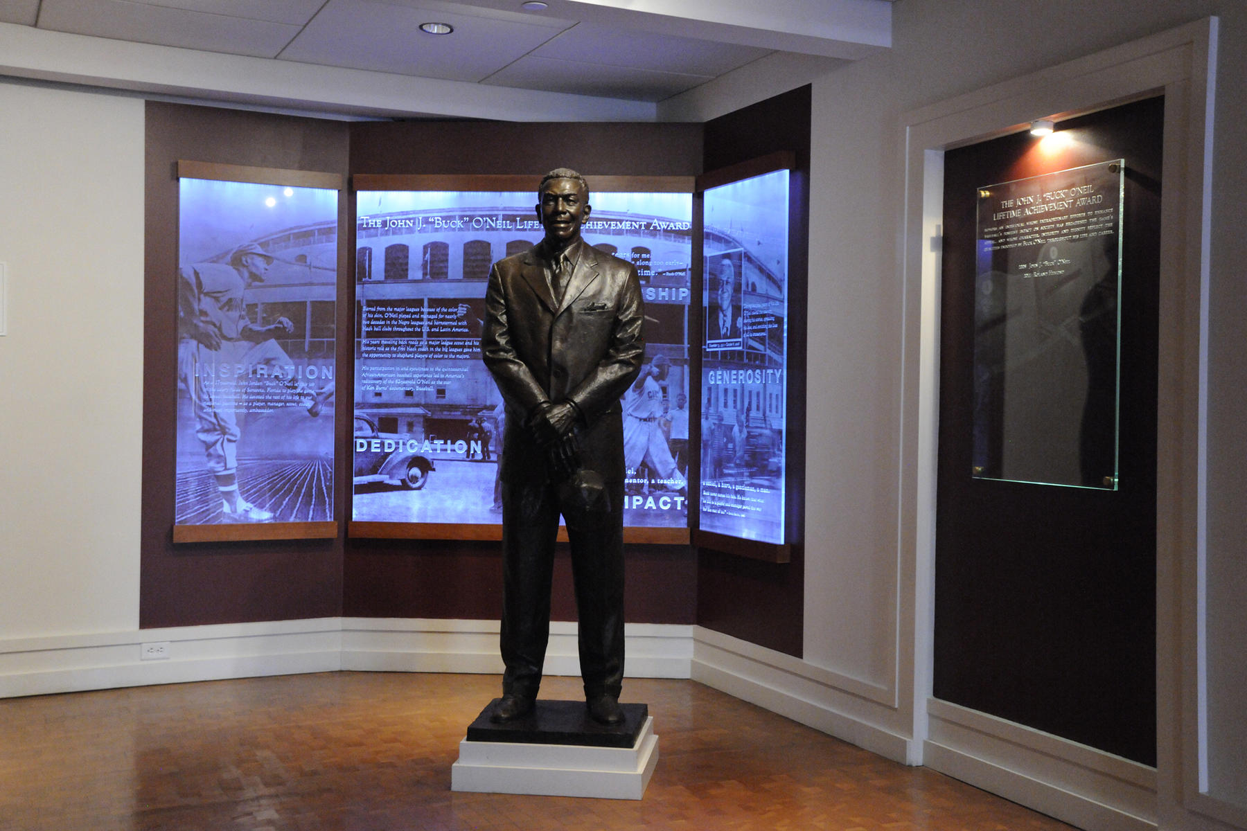 Buck O'Neil Award exhibit (Milo Stewart Jr./National Baseball Hall of Fame)
