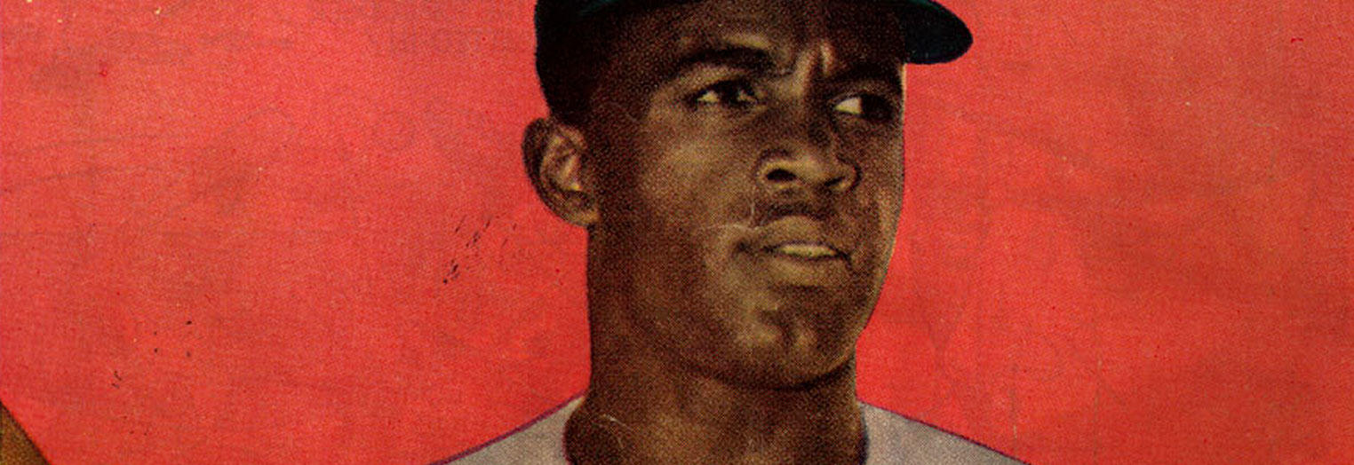"""Hall of Famer Jackie Robinson made American history when he broke the """"color barrier"""" in 1947. (Library of Congress)"""