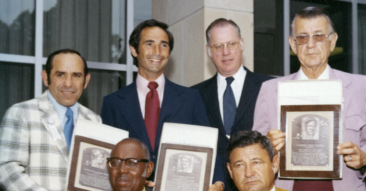 Berra, Koufax inducted amid star-studded Class of 1972