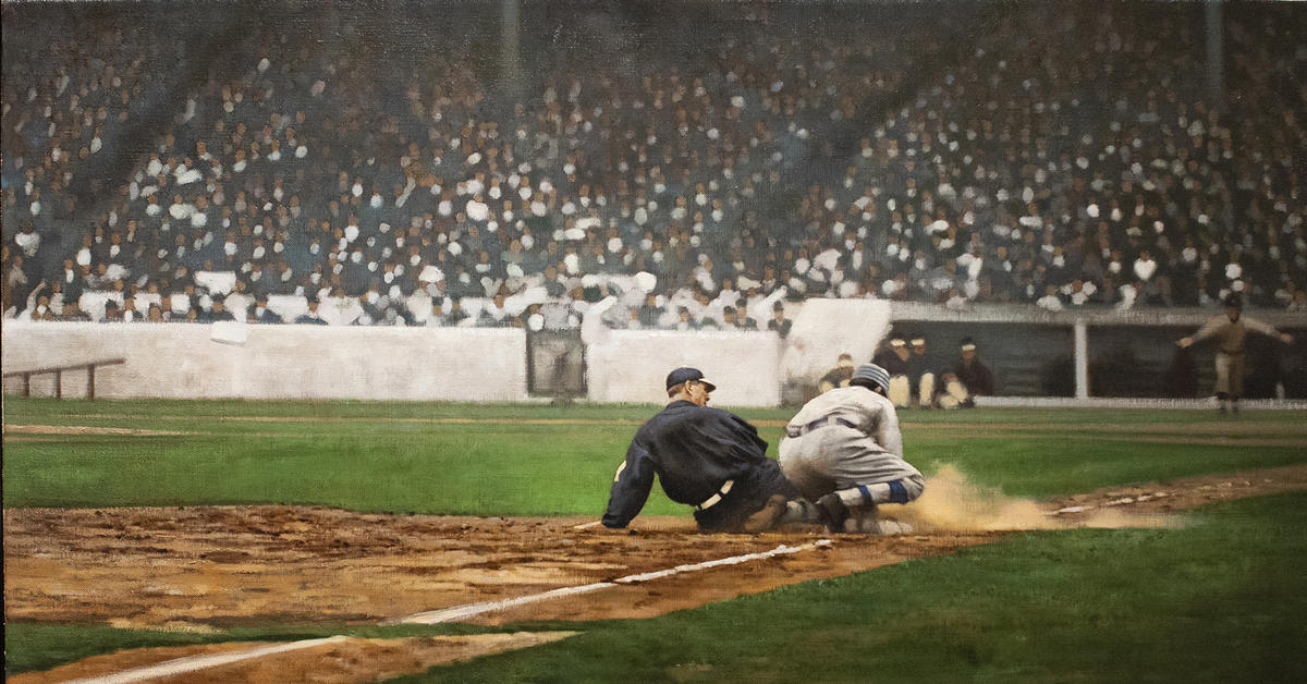 #Shortstops: Painting America's Pastime