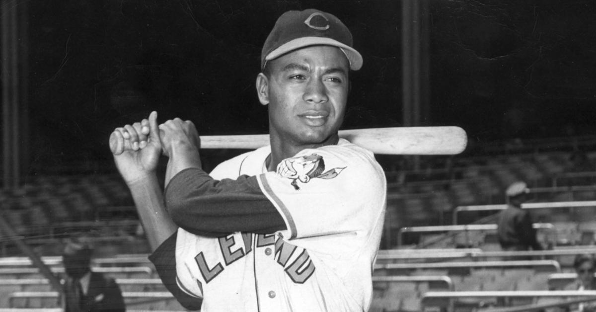 Image result for Cleveland Indians legend Larry Doby