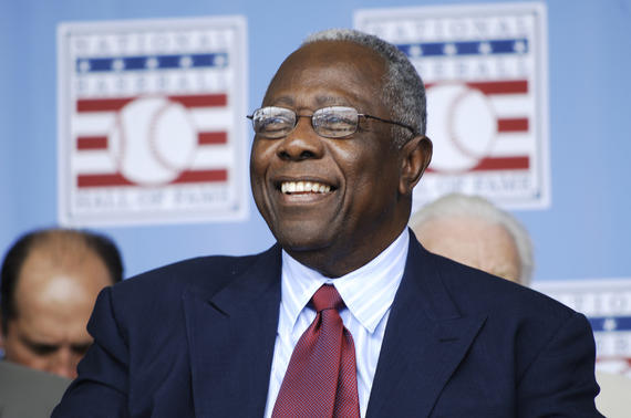 Hank Aaron remains MLB's all-time leader in RBI (2,297) and total bases (6,856). (Milo Stewart Jr./National Baseball Hall of Fame and Museum)