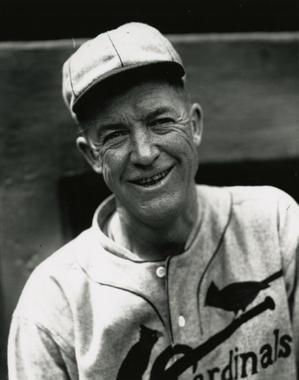 Grover Cleveland Alexander, circa 1926. BL-6333.90 (Charles Conlon / National Baseball Hall of Fame Library)