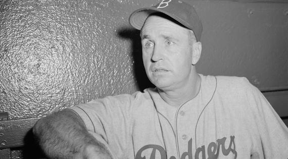 Walter Alston won 2,040 games over 23 seasons as Dodgers manager, leading his teams to four World Series titles. (Osvaldo Salas/National Baseball Hall of Fame and Museum)