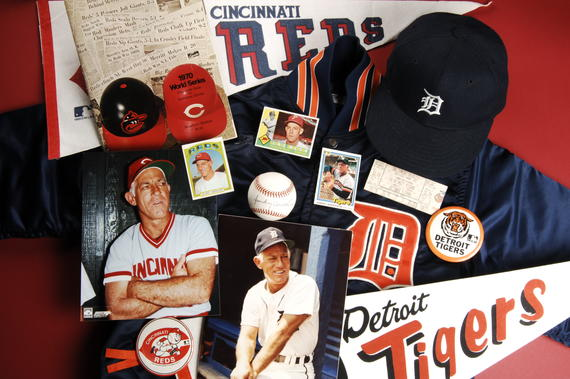 Sparky Anderson won 2,194 games and three World Series with the Reds and Tigers. (National Baseball Hall of Fame Library)