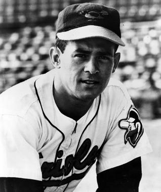 Luis Aparicio was in the lineup for the American League at MLB's Hispanic All-Star Game in 1963. Aparicio, a native of Venezuela, was elected to the Hall of Fame in 1984.(National Baseball Hall of Fame)