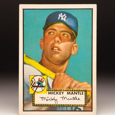 Mickey Mantle's Card