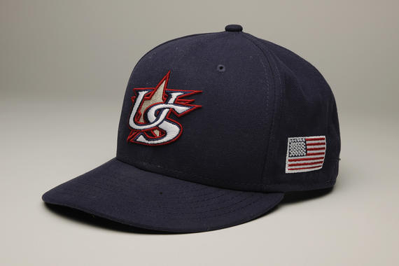 Joe Torre sported this cap when he served as manager of Team USA in the 2013 World Baseball Classic. (Milo Stewart Jr. / National Baseball Hall of Fame)
