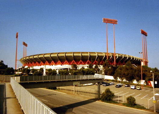 Constructed in 1958, Candlestick Park played host to baseball games, football games and concerts alike. ND3_5062 (Bob Busser / National Baseball Hall of Fame Library)