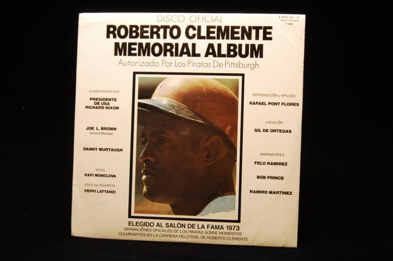 The Roberto Clemente Memorial Album. BL-1573.75 (Milo Stewart, Jr., National Baseball Hall of Fame Library)