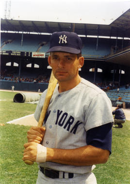 Bobby Cox, pictured above in 1968, was traded to the New York Yankees for Bob Tillman at the end of 1967. (National Baseball Hall of Fame)