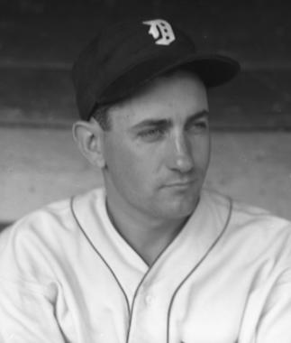 Charlie Gehringer was elected to the Hall of Fame in 1949 following a 19-year career spent entirely with the Detroit Tigers. (Forrest Yantis/National Baseball Hall of Fame and Museum)