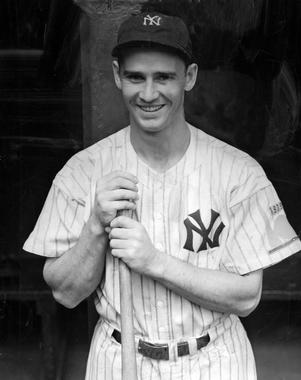Joe Gordon played second base for the Yankees for seven seasons and helped New York win five American League pennants and four World Series titles during those years. (National Baseball Hall of Fame and Museum)
