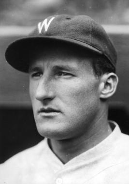 Goose Goslin helped power the Senators to American League pennants in 1924 and 1925, then won the AL batting title in 1928 with a .379 average. (National Baseball Hall of Fame and Museum)