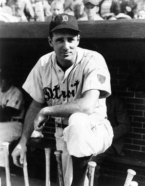 Hank Greenberg played nine full seasons in the big leagues, leading the AL in home runs four times. (National Baseball Hall of Fame and Museum)