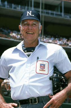 Doug Harvey worked 4,673 games during his 31 years in the big leagues, including nine National League Championship Series, five World Series and six All-Star Games. (Lou Sauritch/National Baseball Hall of Fame and Museum)