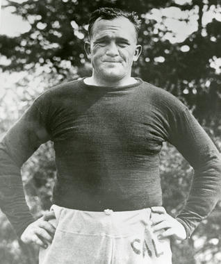 Cal Hubbard is one of two members of both the National Baseball Hall of Fame and the Pro Football Hall of Fame. (National Baseball Hall of Fame and Museum)