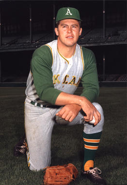 Signed by the Athletics out of high school in 1964, Jim Hunter became