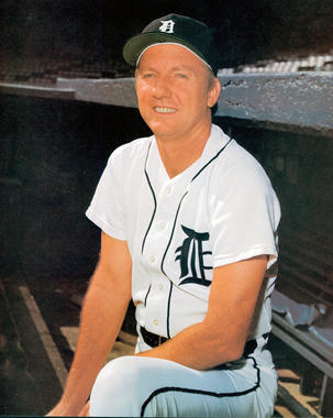 Al Kaline played his entire 22-year big league career with the Detroit Tigers. (National Baseball Hall of Fame and Museum)