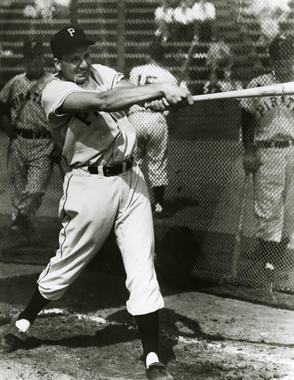 Ralph Kiner led the National League in home runs each year from 1946 through 1952. (National Baseball Hall of Fame and Museum)