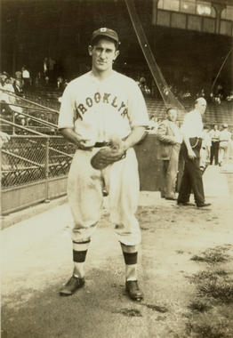 Al López played for Brooklyn for seven seasons of his 19-year playing career. (National Baseball Hall of Fame and Museum)