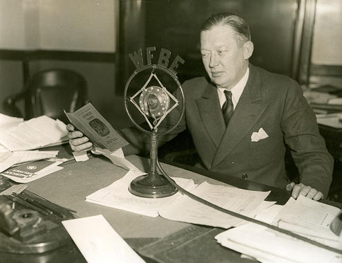 Larry MacPhail was elected to the Hall of Fame on Jan. 30, 1978 by the Veterans Committee along with Addie Joss. (National Baseball Hall of Fame and Museum)
