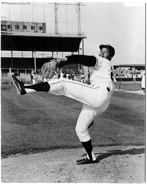 Juan Marichal pitched the majority of his career with the San Francisco Giants, from 1960-1973. He would post six 20-win seasons with San Francisco. (National Baseball Hall of Fame and Museum)
