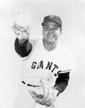 Juan Marichal was inducted into the Hall of Fame in 1983. He pitched for the Giants for 14 of his 16 big league seasons. (National Baseball Hall of Fame and Museum)