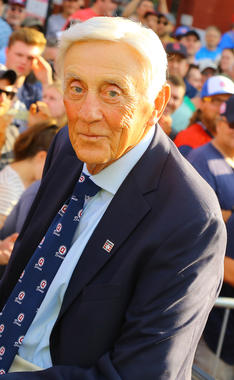 Phil Niekro was elected to the Hall of Fame's Board of Directors in 2009. (Parker Fish/National Baseball Hall of Fame and Museum)
