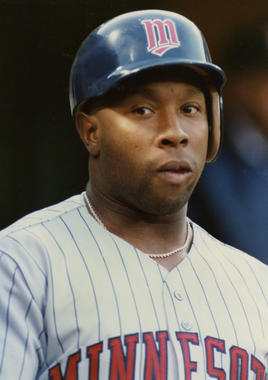 In 12 seasons with the Twins, Kirby Puckett was named to 10 All-Star Games and won six Gold Glove Awards in center field. He was elected to the Hall of Fame in 2001. (Doug McWilliams/National Baseball Hall of Fame and Museum)